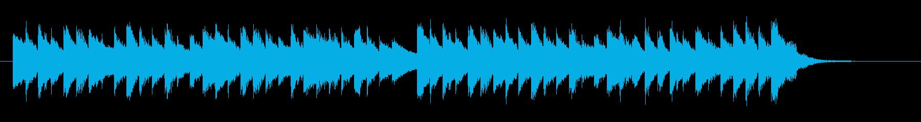 チェンバロ、眠りを誘う優雅なジングルの再生済みの波形