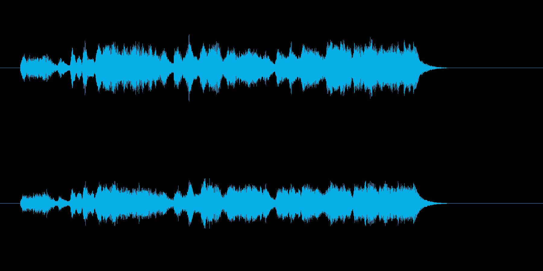 かわいい ストリングス フルート 美しいの再生済みの波形