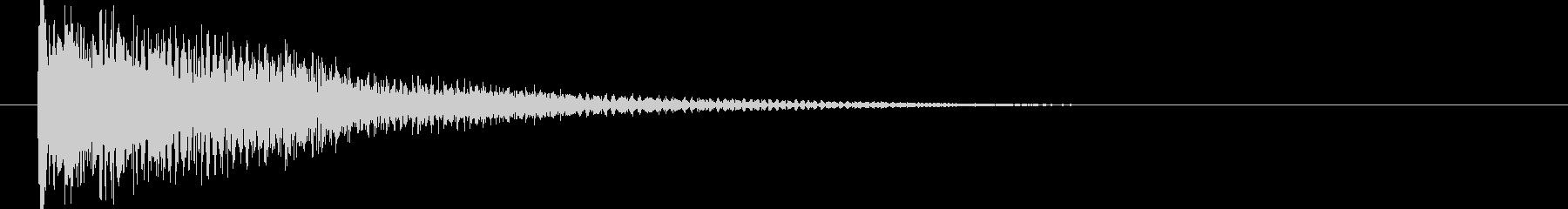 映画告知音84 ドーンの未再生の波形