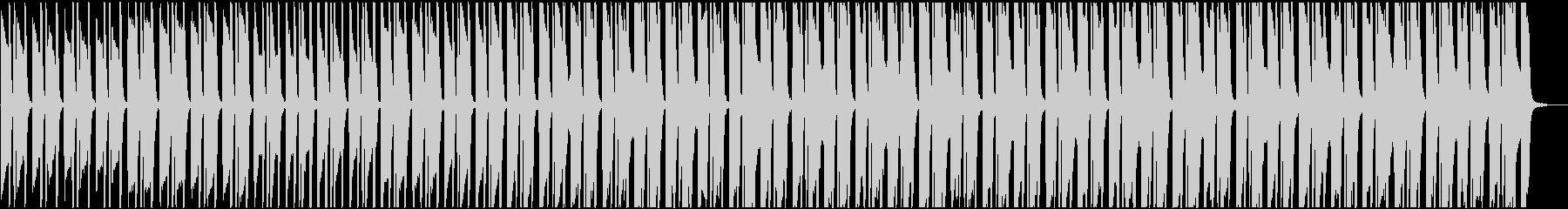 ほのぼのとした日常系ピアノ・BGMの未再生の波形