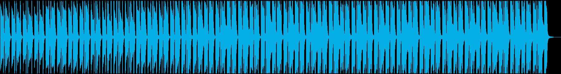 ほのぼのとした日常系ピアノ・BGMの再生済みの波形