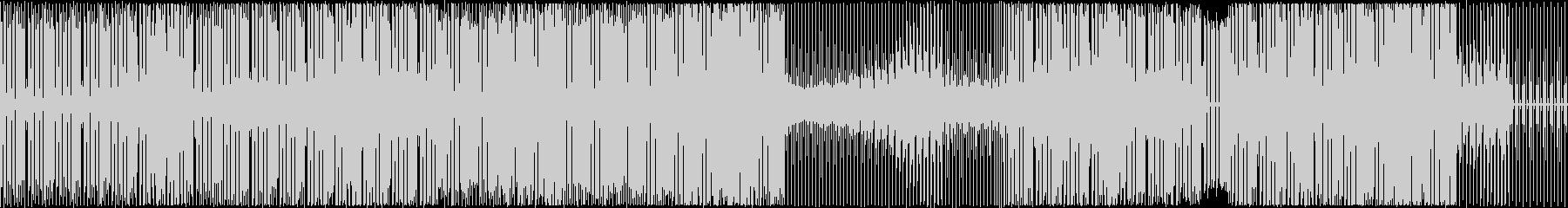 技術説明や解説BGM向きのテクノ音楽の未再生の波形