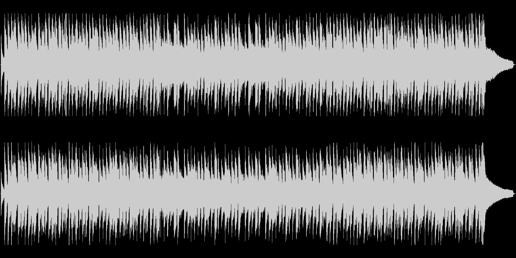 ライトジャズ「おめでとうクリスマス」の未再生の波形