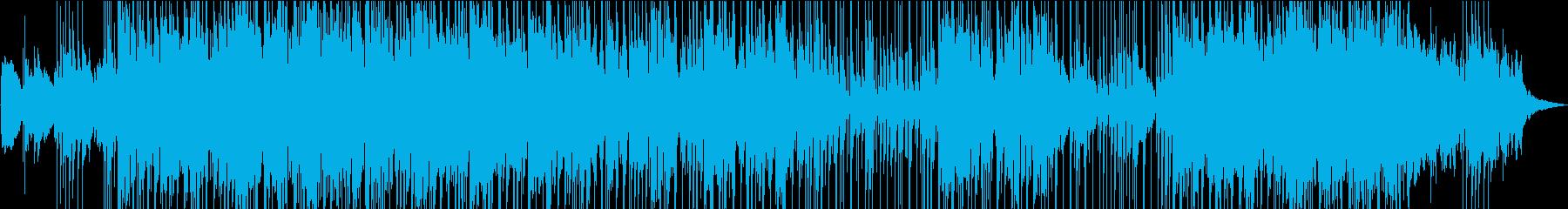クールな大人レトロジャズの再生済みの波形