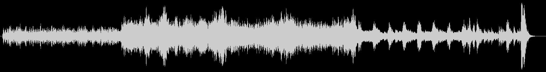 b悲劇的で緊迫したストリングス 1分の未再生の波形