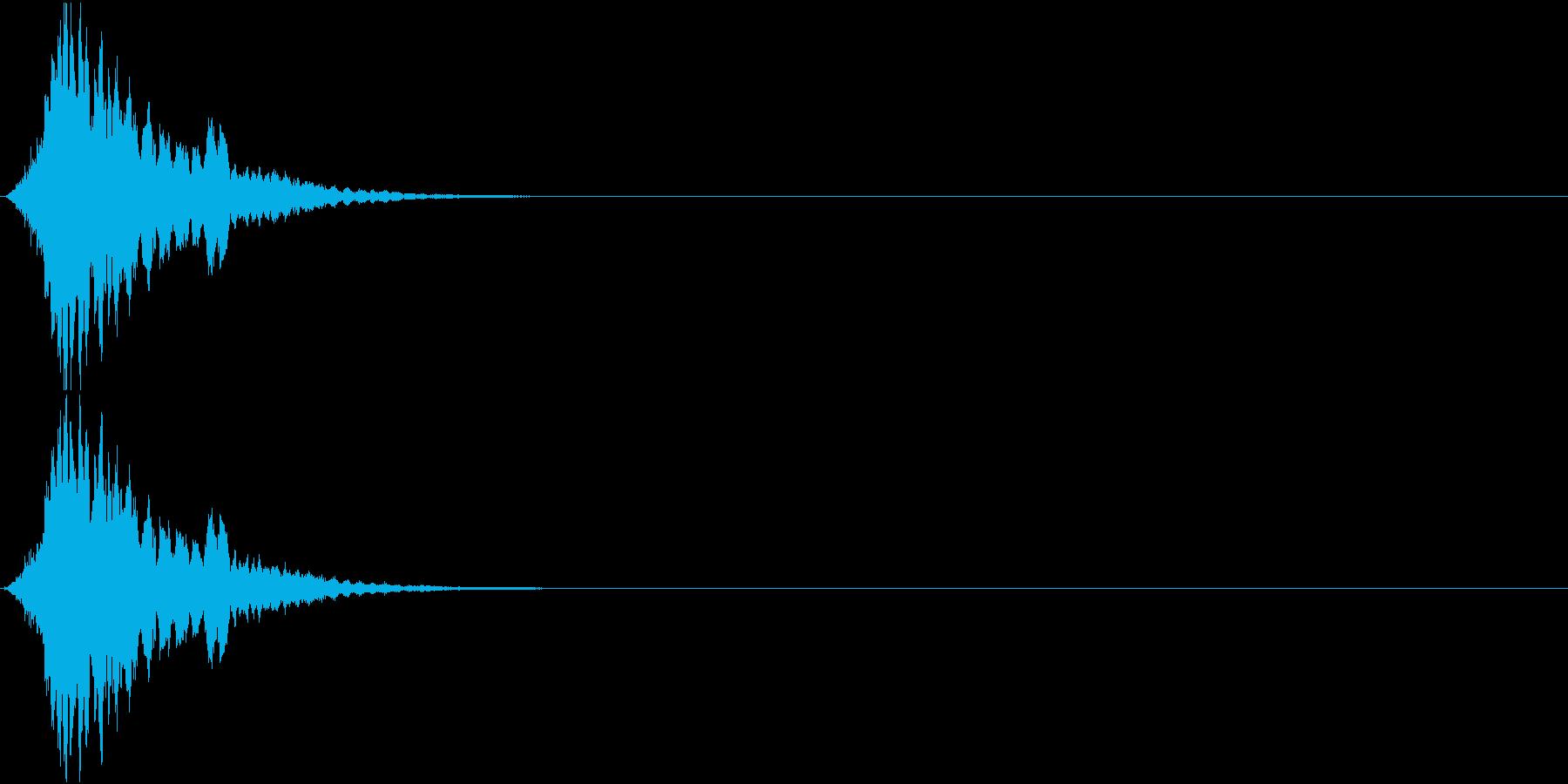 キーン(機械 ワープ 操作 SF風)の再生済みの波形