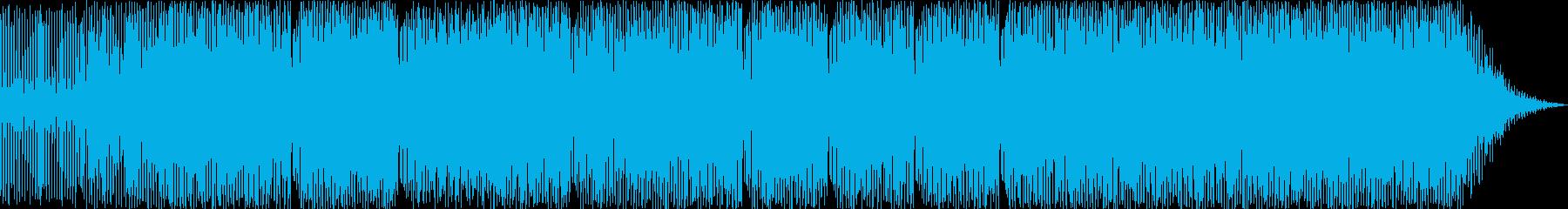軽快なラテンハウスの再生済みの波形