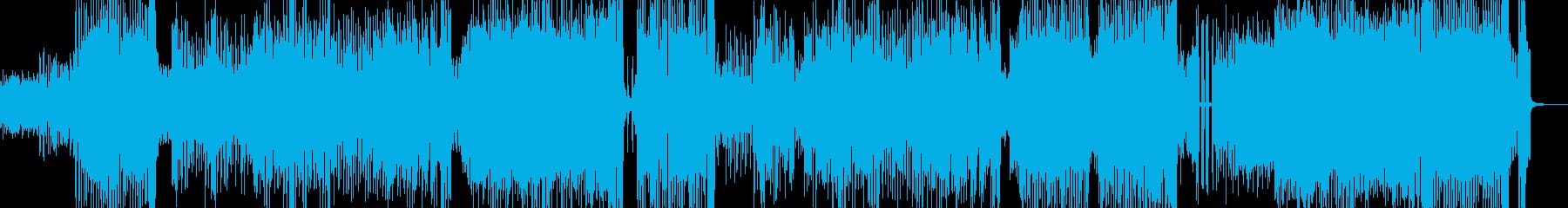 全開キュートな雰囲気・テクノ エレキ無★の再生済みの波形