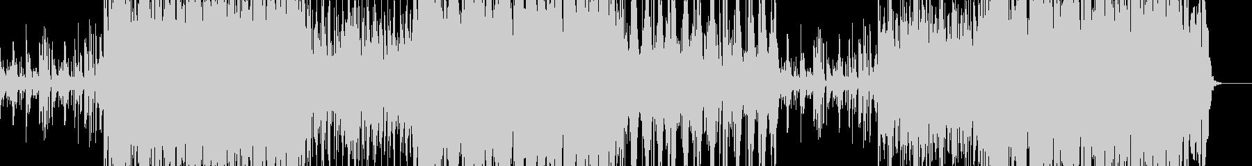 和:和楽器沢山の艶やか系楽曲の未再生の波形