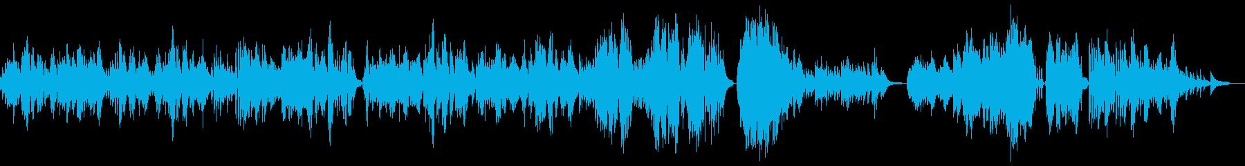 クラシックのワルツです。ソロピアノ曲。の再生済みの波形