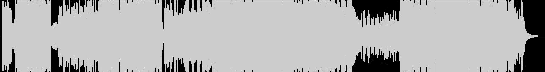 海鳴りのうたの未再生の波形