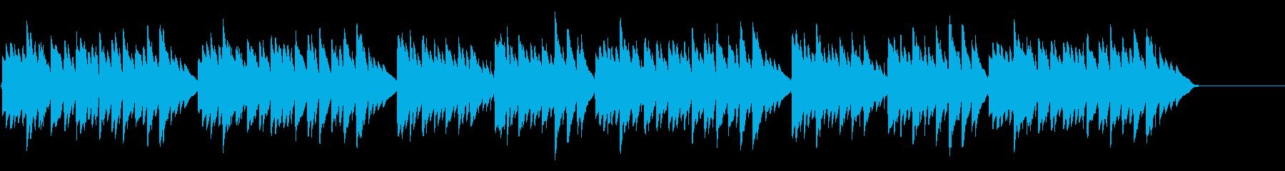キラキラ星変奏曲(Var Ⅲ)オルゴールの再生済みの波形