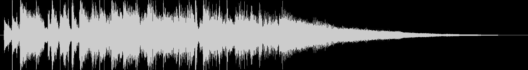 エレピが特徴のジャズポップ・ジングルの未再生の波形
