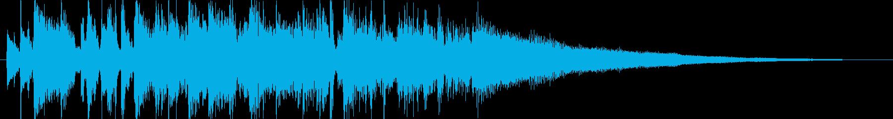 エレピが特徴のジャズポップ・ジングルの再生済みの波形
