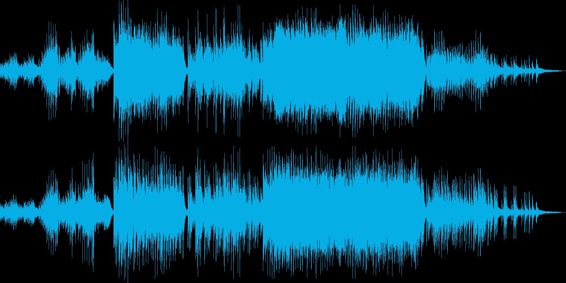 ピアノ+弦楽五重奏の優しい楽曲♪の再生済みの波形