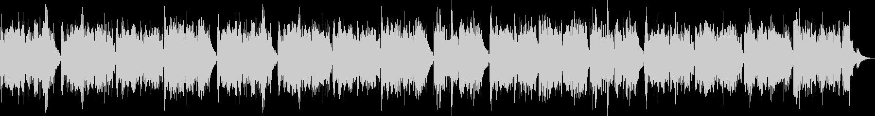 森林の中を表現したギターソロの未再生の波形