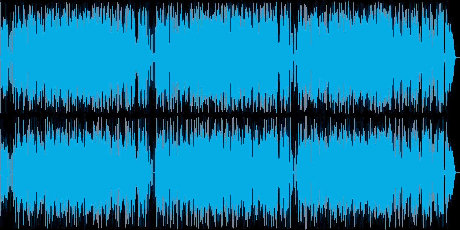 エレキギターのメロディーが素敵なボサノバの再生済みの波形