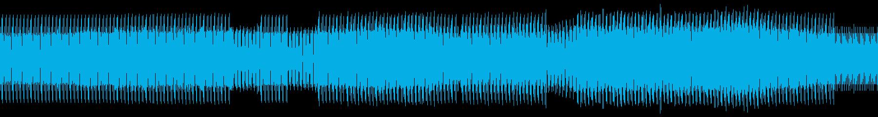 煌びやかなテクノの再生済みの波形