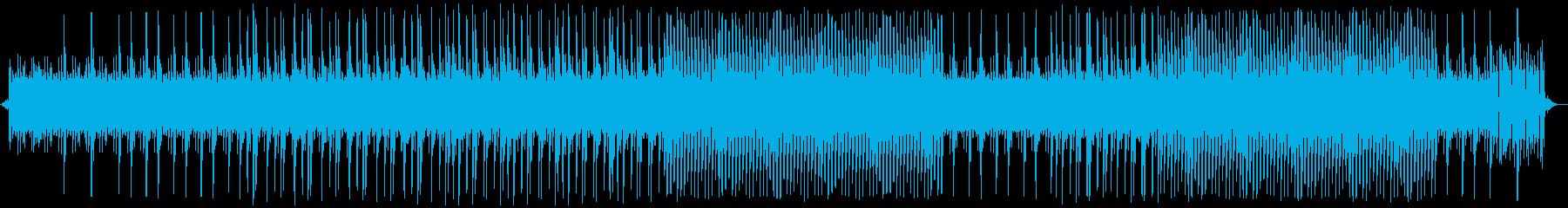 デジタル-AI-IT-映画メニュー画面の再生済みの波形