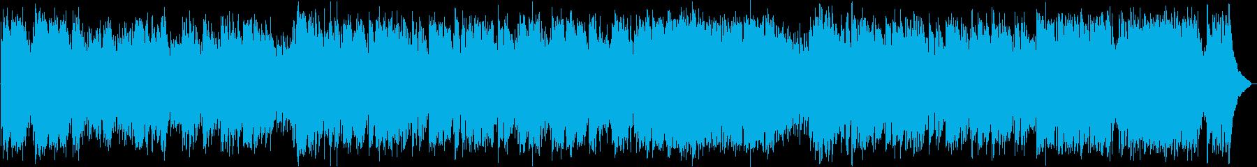 イタリア郊外風の3拍子BGMアレンジ版の再生済みの波形