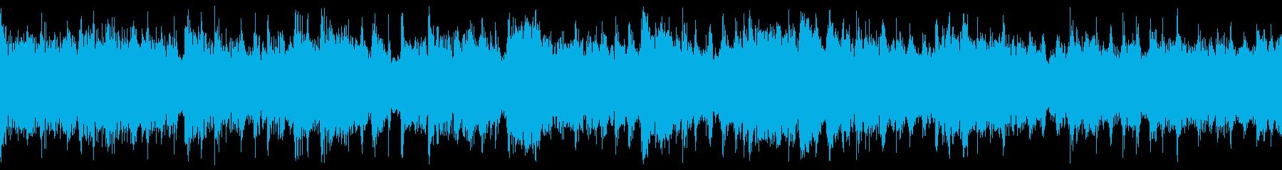 滑らかで温かみのあるサウンドの再生済みの波形