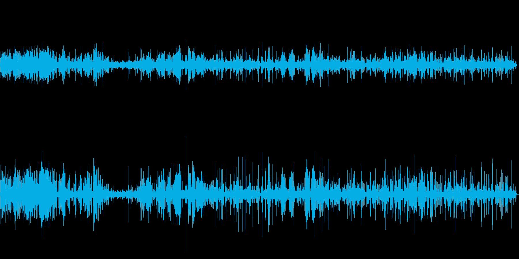 【生録音】春の野鳥のさえずり 1の再生済みの波形