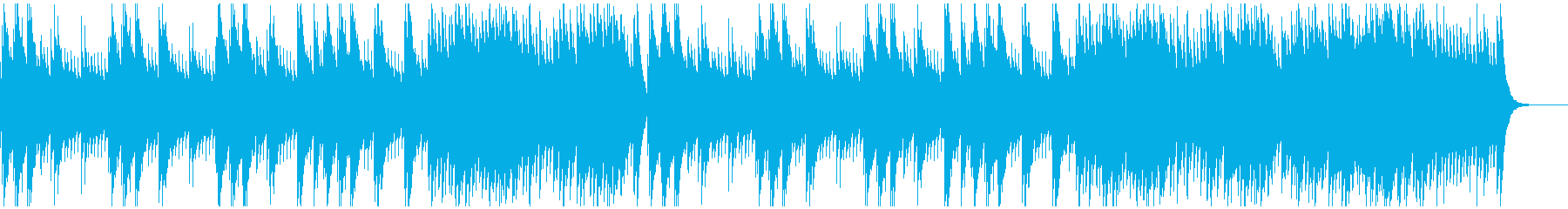 ゴシックな雰囲気の妖しいオルゴール曲の再生済みの波形
