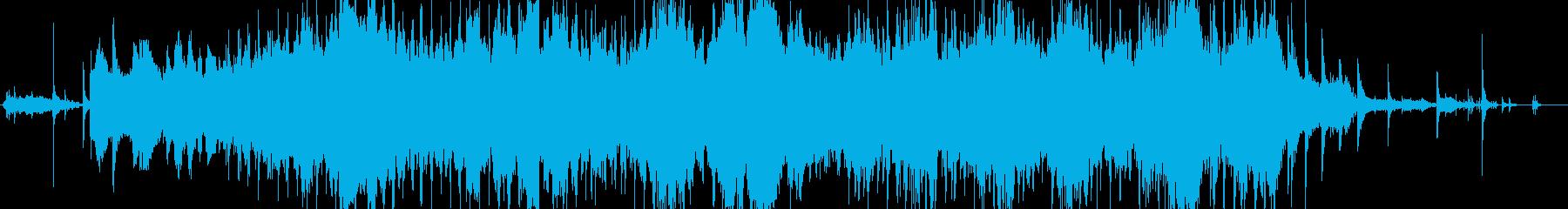 生演奏 ギター 声 ホーミーの再生済みの波形