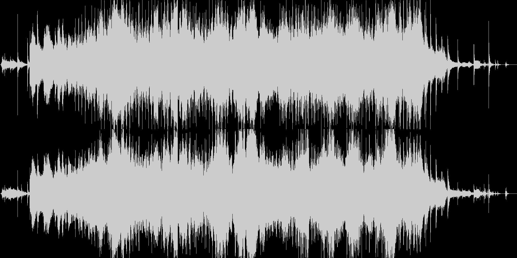 生演奏 ギター 声 ホーミーの未再生の波形