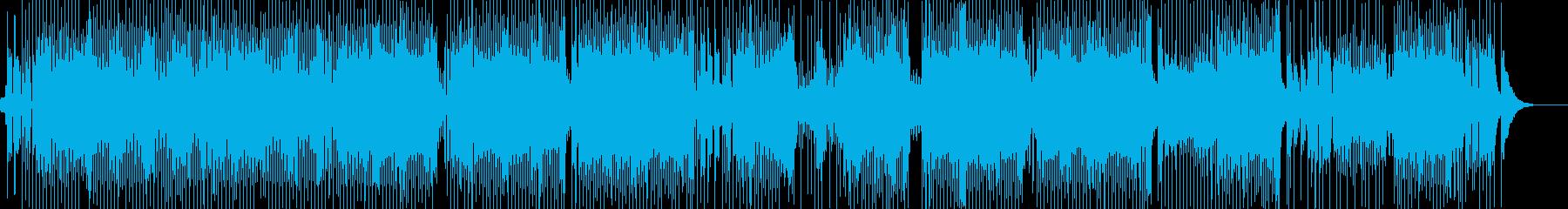 楽しく気分が弾むカントリー Bの再生済みの波形