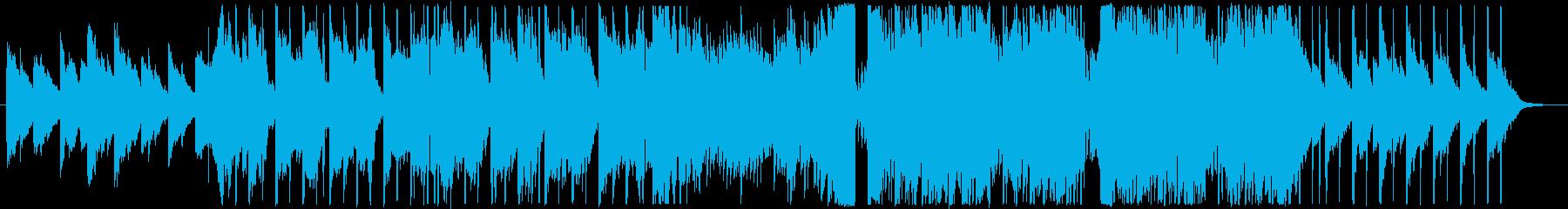 美しい感動系ピアノから壮大なエレクトロの再生済みの波形