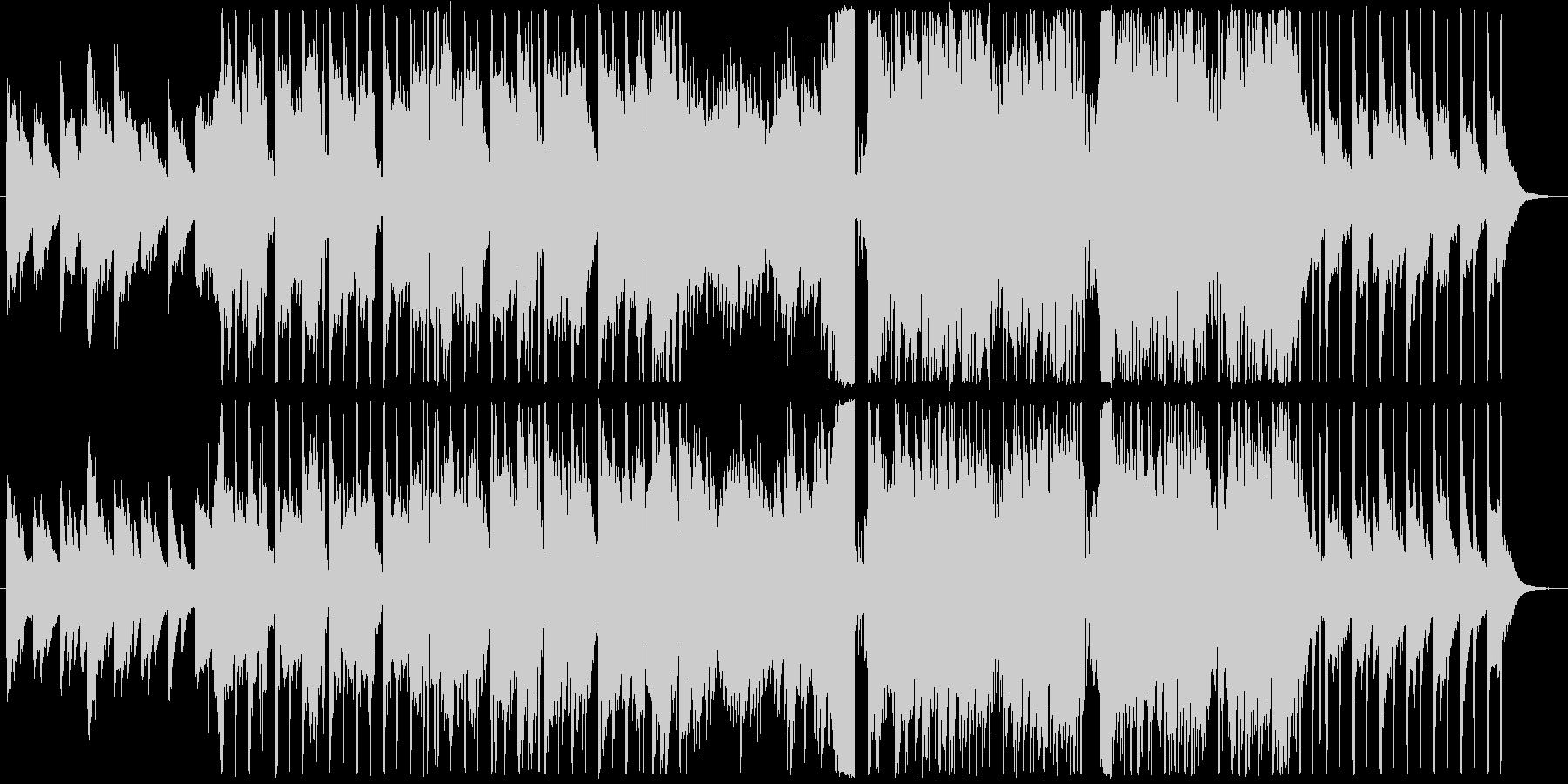 美しい感動系ピアノから壮大なエレクトロの未再生の波形
