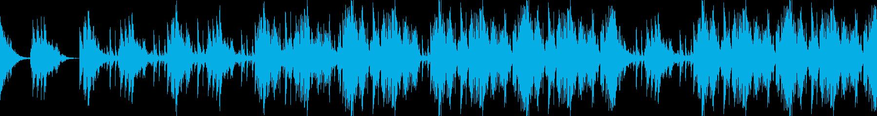 ゆったりと壮大なオーケストラ打楽器リズムの再生済みの波形