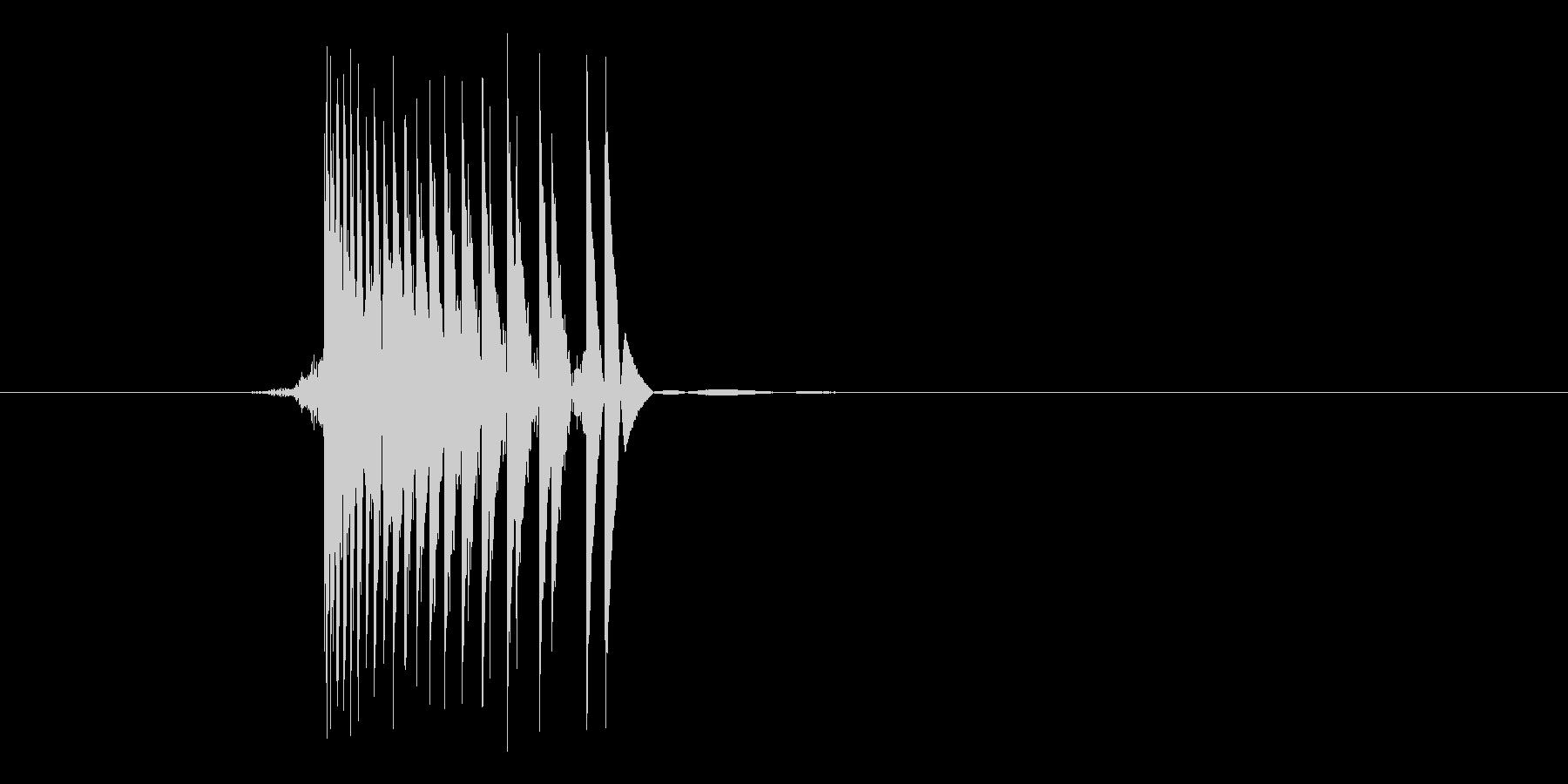 ゲーム(ファミコン風)レーザー音_044の未再生の波形