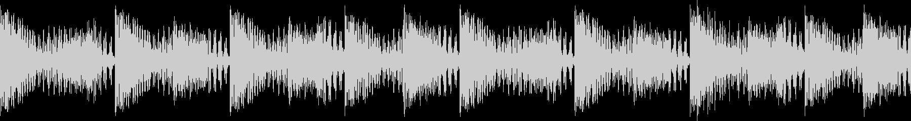 BPM128EDMリズムループキーF# の未再生の波形