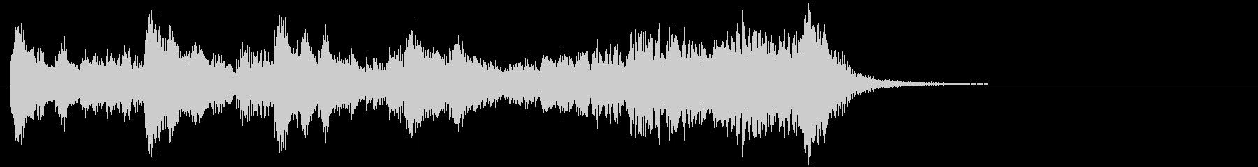 のほほんジングル023_わくわく-3の未再生の波形