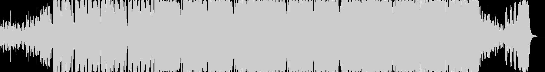 ピチカートドラムンベースエレクトロbの未再生の波形