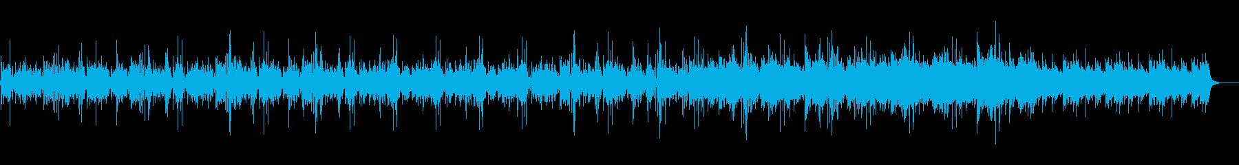 水中をイメージしたヒーリング_癒しBGMの再生済みの波形