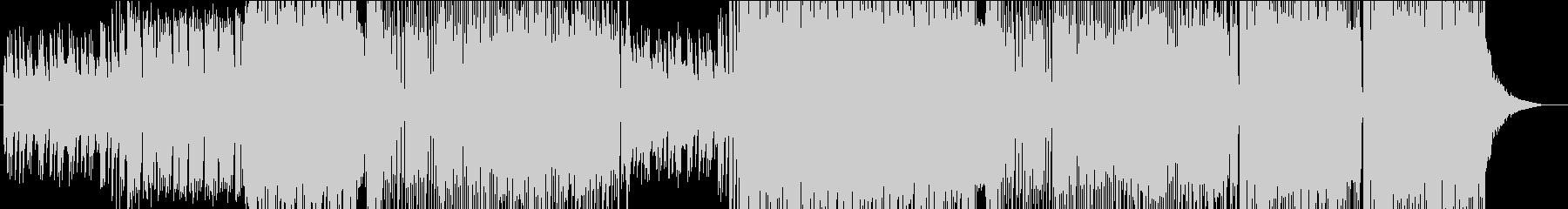 キャッチーな和メロEDMの未再生の波形