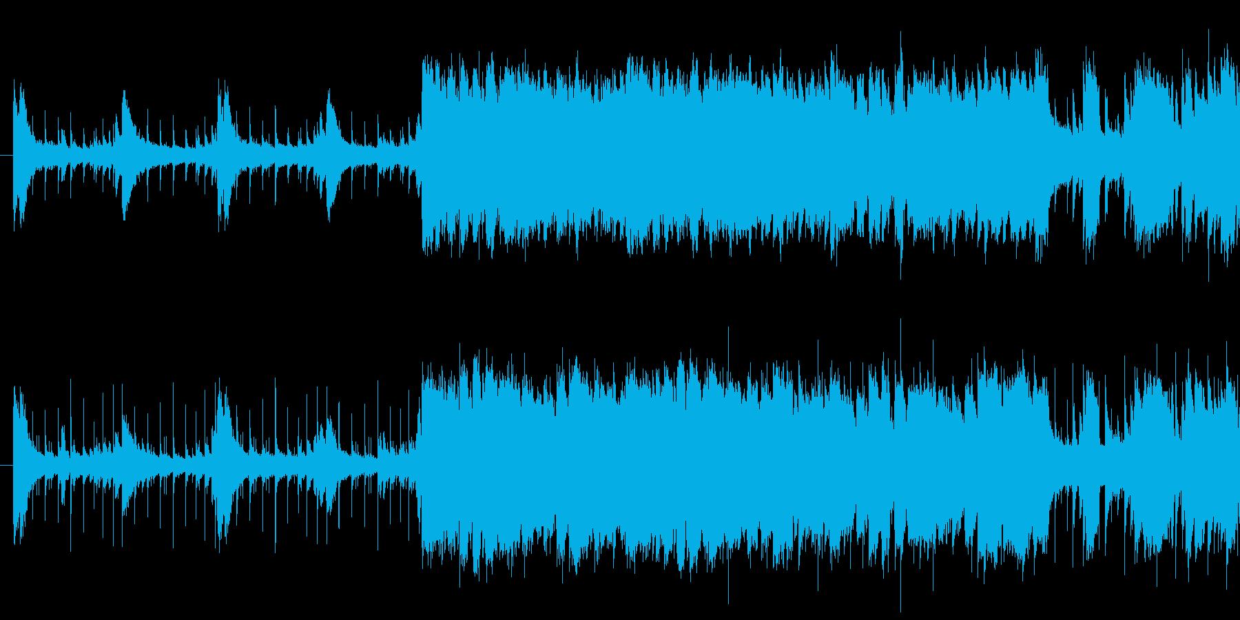 空気感、生演奏感のあるジャズループ曲で…の再生済みの波形