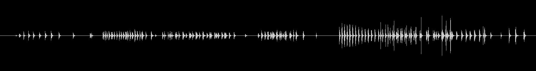 小さい Quack Long 02の未再生の波形