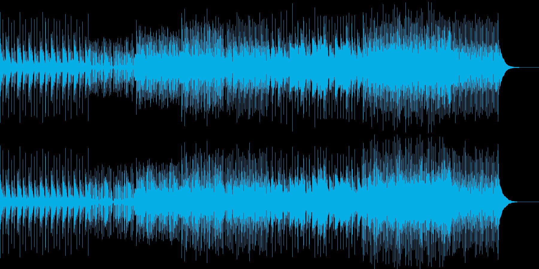 明るくほのぼの・生楽器のエレクトロニカの再生済みの波形