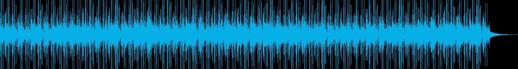 ムーディーなアシッドジャズトラック...の再生済みの波形
