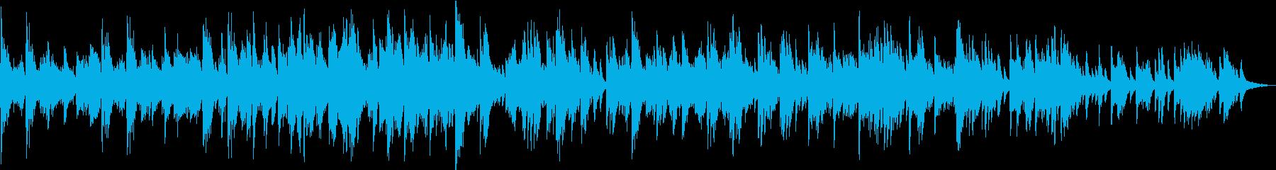 穏やかで優しい 響くヒーリング・ピアノの再生済みの波形