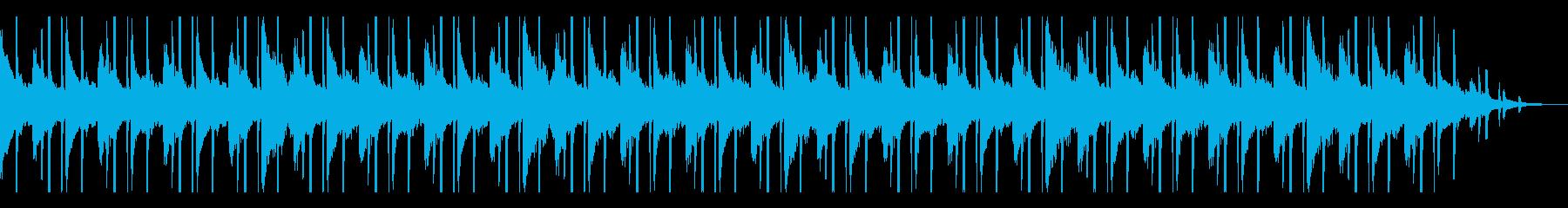 ピアノサンプルHIPHOP 爽やかの再生済みの波形