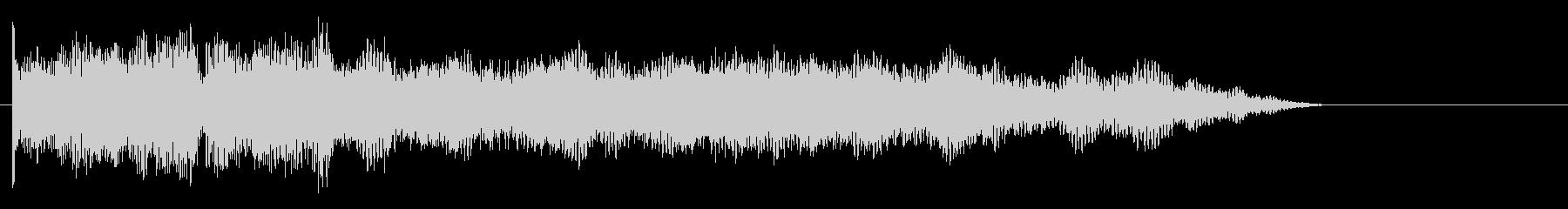ファンタジックな電波ノイズの未再生の波形
