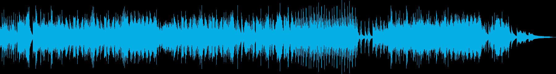 夏の癒し・ピアノと三味線の二重奏の再生済みの波形