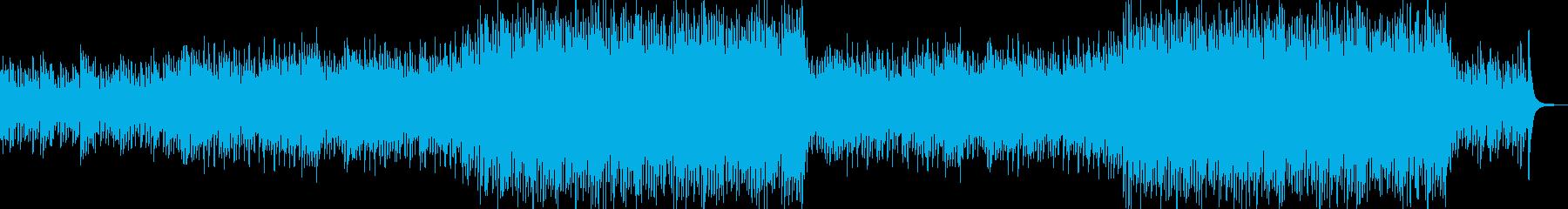 琴とピアノの優しい感動的な和風バラードの再生済みの波形