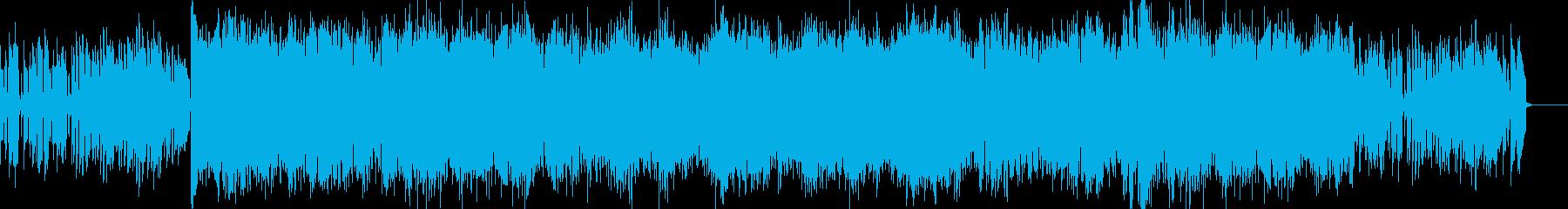 メロウで都会的なヴァイオリン・ハウスの再生済みの波形