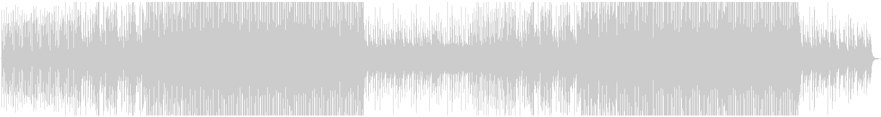 ヒマワリをイメージした明るく優しい楽曲の未再生の波形